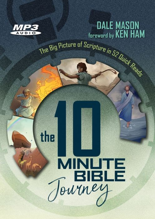 The 10 Minute Bible Journey (MP3 Audiobook)