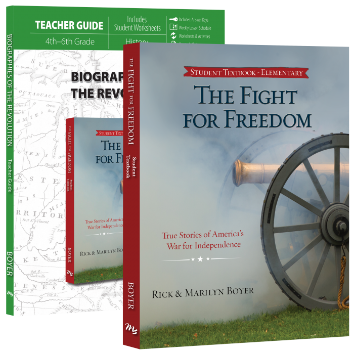 Biographies of the Revolution Set