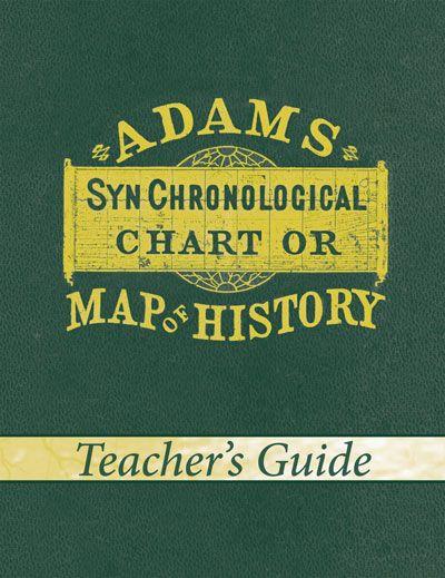 Adams' Chart of History (Teacher's Guide)
