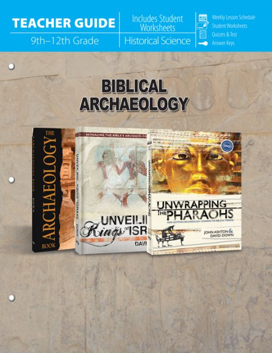 Biblical Archaeology (Teacher Guide - Download)