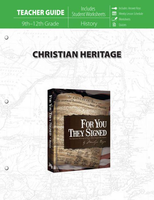 Christian Heritage (Teacher Guide)