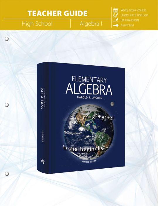 Elementary Algebra (Teacher Guide - Download)