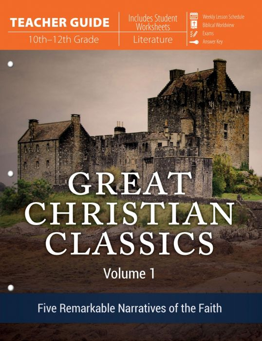 Great Christian Classics: Volume 1 (Teacher Guide - Download)