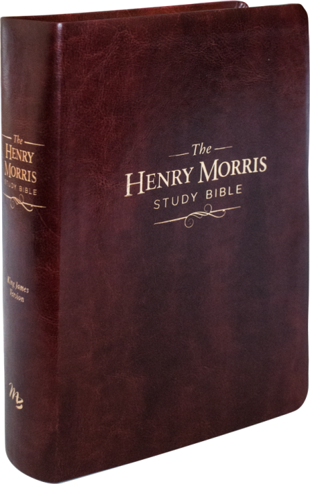 The Henry Morris Study Bible (Brown Imitation Leatherbound)