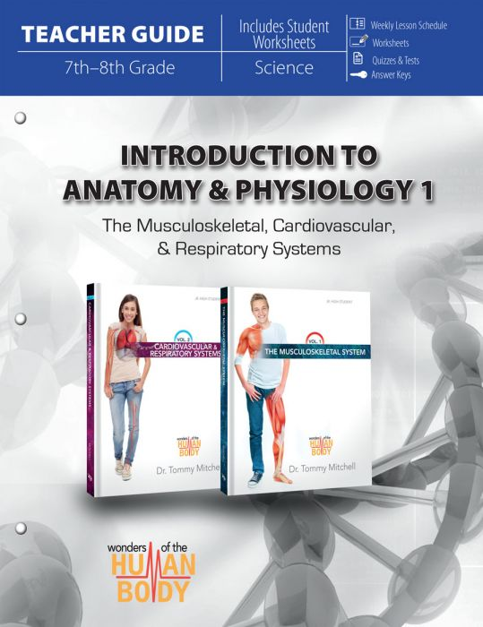 Introduction to Anatomy & Physiology 1 (Teacher Guide - Download)