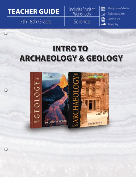 Intro to Archaeology & Geology (Teacher Guide - Download)