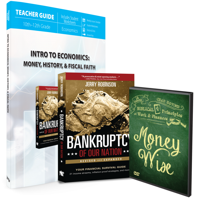 Intro to Economics : Money, History & Fiscal Faith (Curriculum Pack)