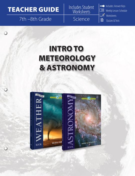 Intro to Meteorology & Astronomy (Teacher Guide - Download)