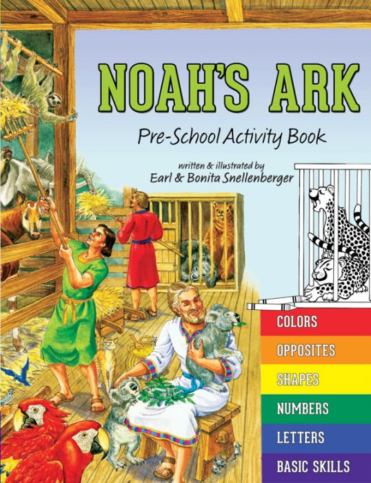 Noah's Ark: Pre-School Activity Book (Download)