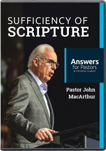 Answers for Pastors: Sufficiency of Scripture (DVD)