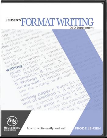Format Writing DVD